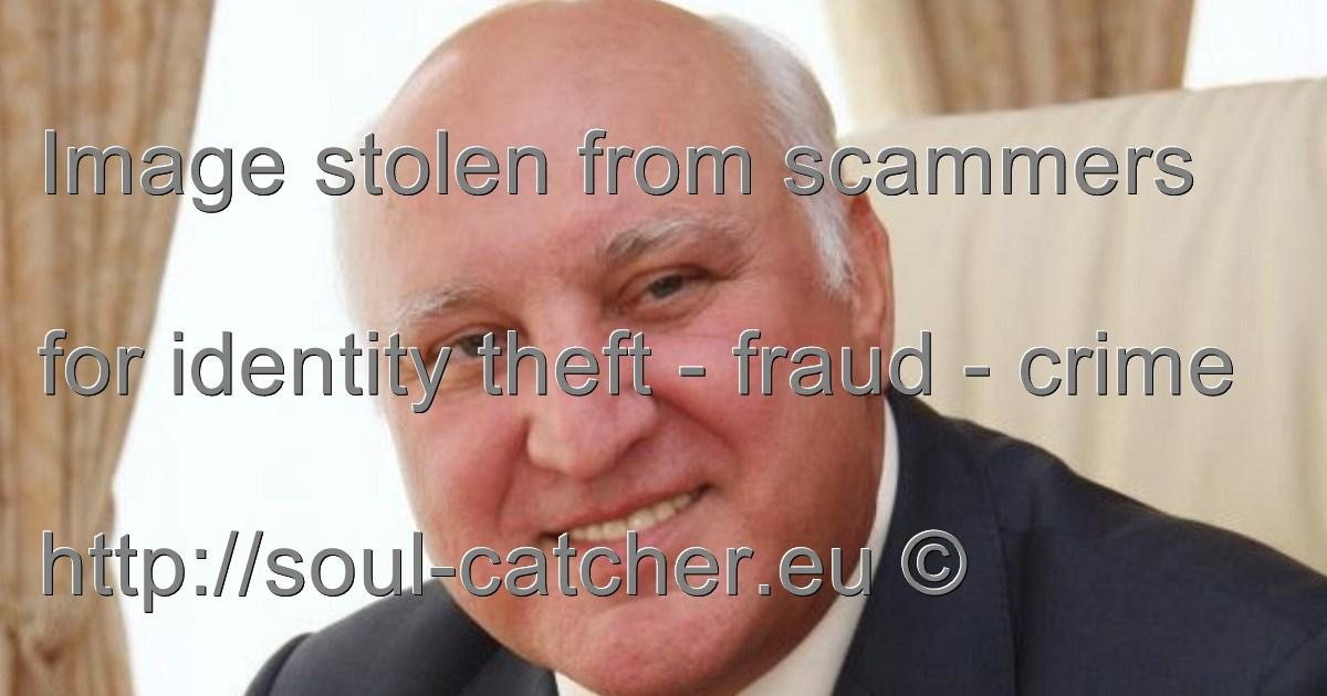 Entrepreneur Vladimir Kozyrev image abused by Scammers